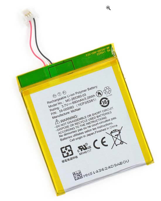 e ink reader battery types of e readers