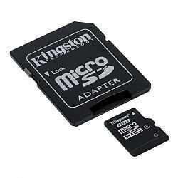 The adapter - an adapter from MicroSD in SD type