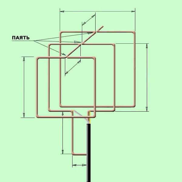 тройной квадрат - 600x600, 32.4Kb