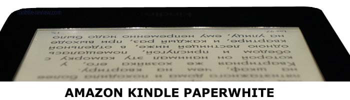 Подсветка в Amazon Kindle Paperwhite