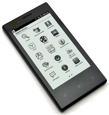 Smartphone with E-ink screen Onyx E43